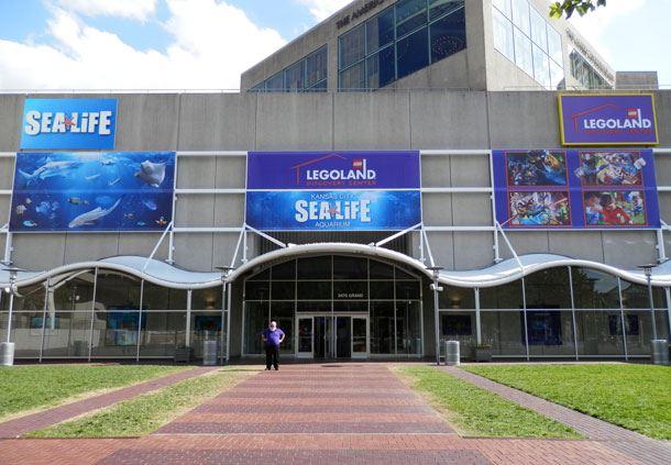 Legoland® Discover Center and Sea Life Aquarium