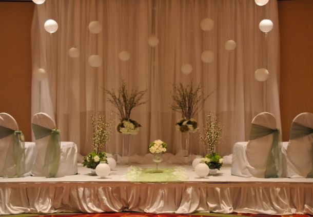 Unique Ceremony Setup