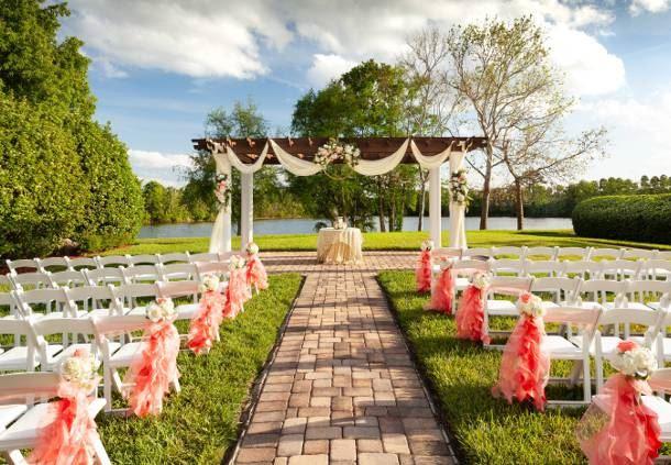 Capri Lawn - Wedding Cermony Setup