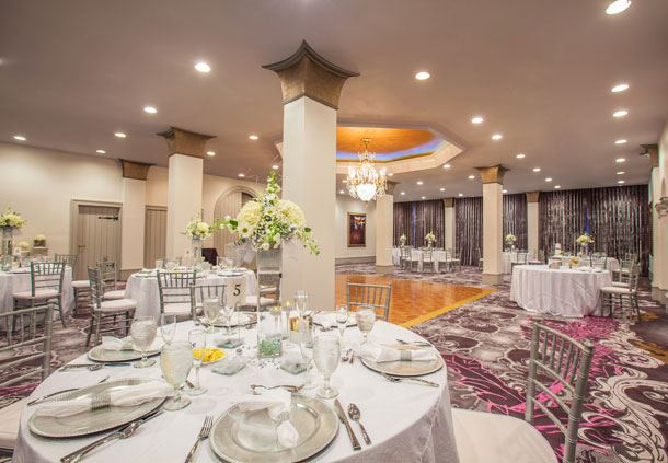 Palace Ballroom - Reception Setup
