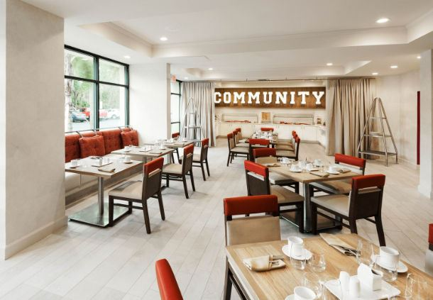 Community Table - Dining Area