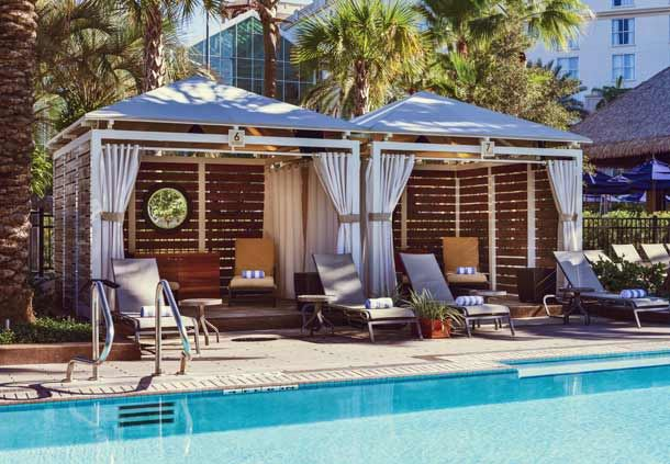 South Beach Pool Cabana