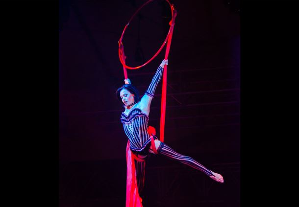 Cirque Dreams Unwrapped Stage Show at Gaylord Palms