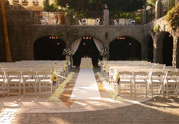 Wedding in Castillo de San Marcos Fort