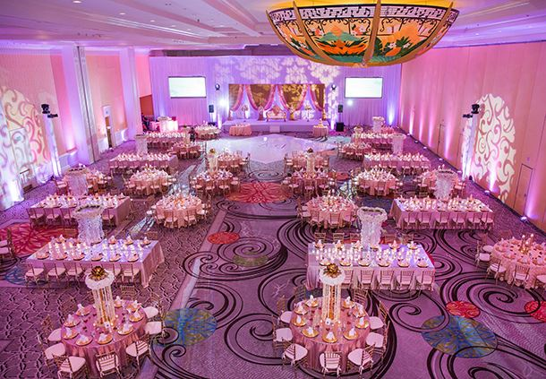 Wedding Reception in Sun Ballroom
