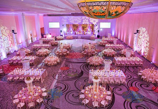 Wedding Reception in Sun Ballroom