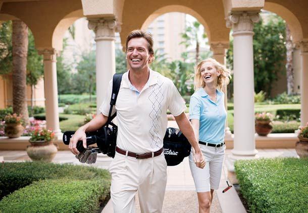 Golf Couple