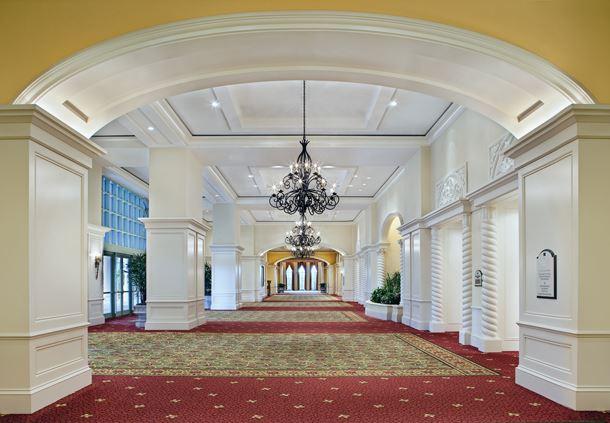Mediterranean Ballroom Hallway