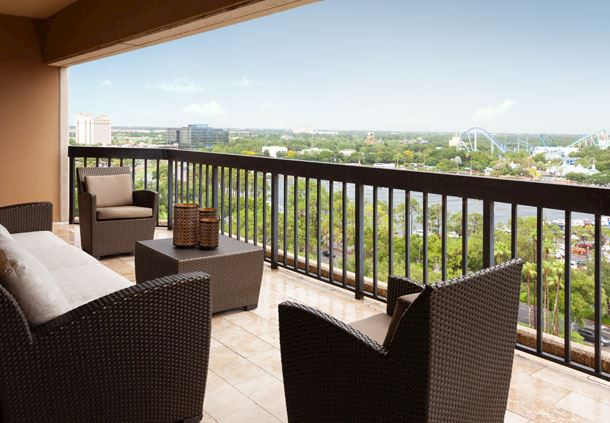 Presidential Suite - Balcony