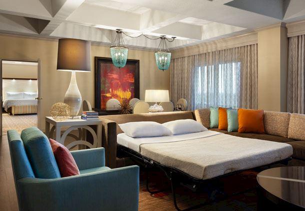 Presidential Suite - Sofa Bed