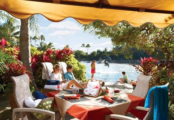 Private Cabanas at Discovery Cove