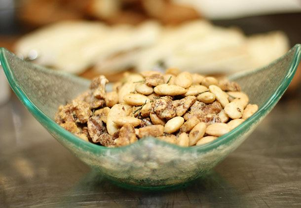 Pork Roast Almonds
