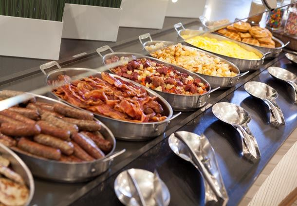 Latitude & Longitude - Breakfast Buffet