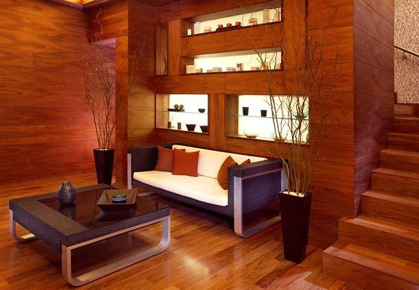Oriental Spa Lobby