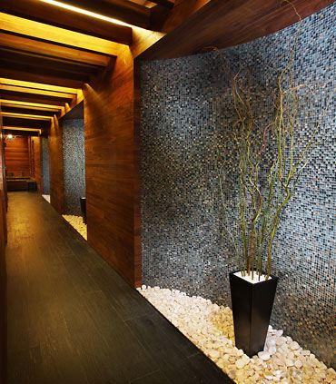 Oriental Spa Hallway
