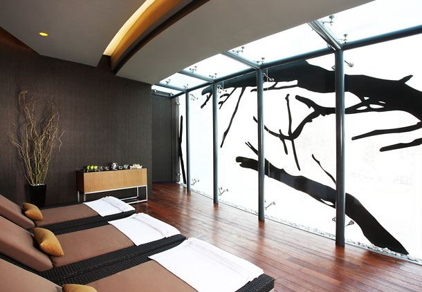 Oriental Spa Relaxation Room