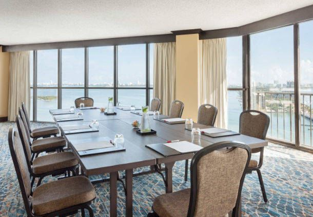 Biscayne Island - Boardroom Style