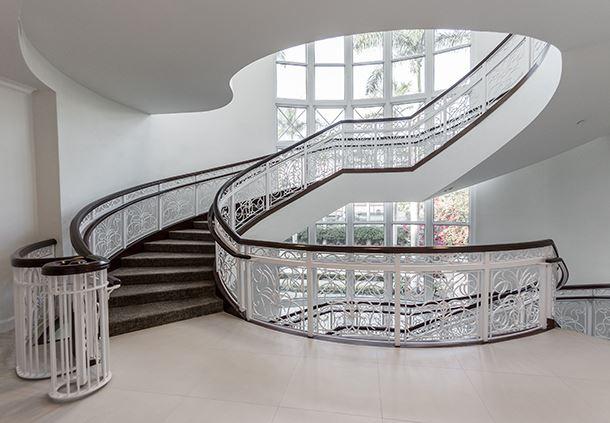 âme Spa & Wellness Collective - Spiral Staircase