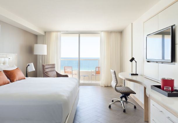 King Oceanfront Guest Room