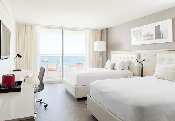 Double/Double Oceanfront Guest Room