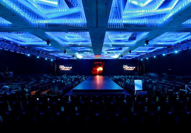 Manila Ballroom - Runway Setup