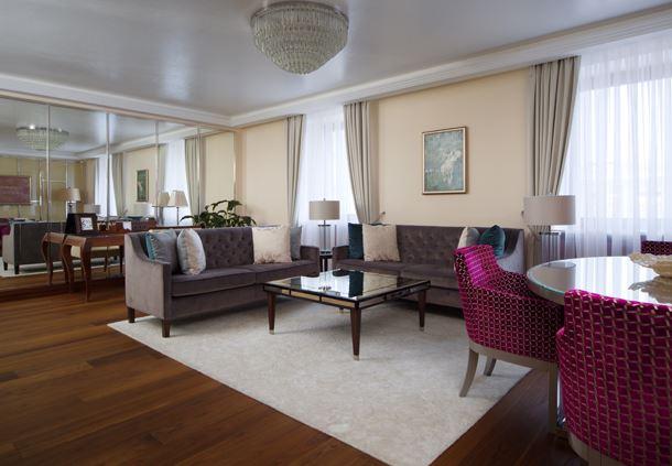 Borodin Suite - Living Room