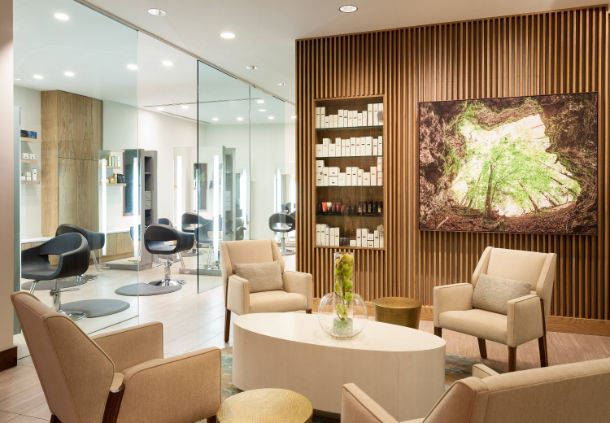 Spa - JW Salon & Waiting Area