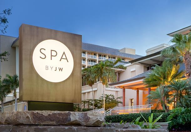 Spa by JW Sign Exterior