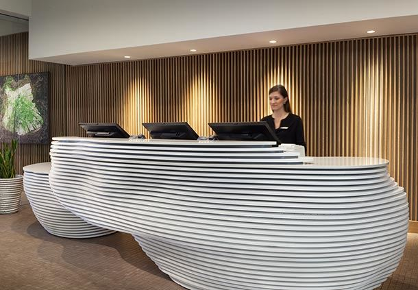 Spa by JW Reception Desk
