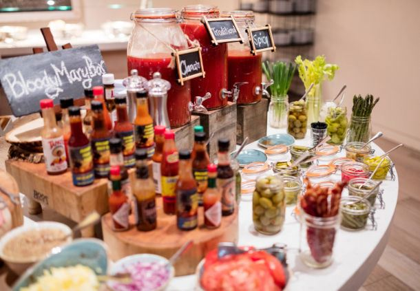 Maia Bloody Mary Bar