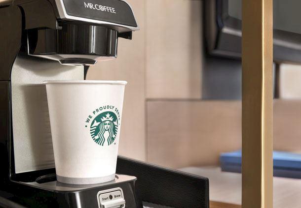 Guest Room Amenities - Starbucks Coffee