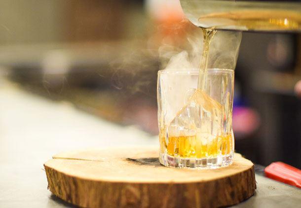 Smokey Old Fashioned