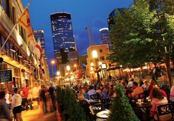 Nicollet Mall Night-Time