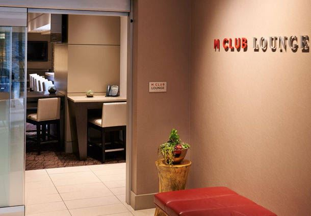 M Club Lounge Entrance