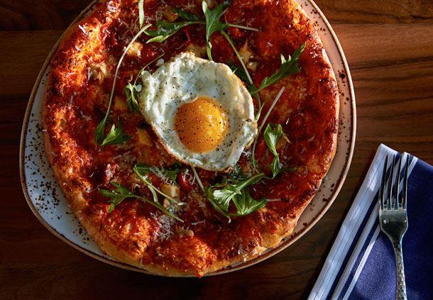 Cedar + Stone Pizza Dish