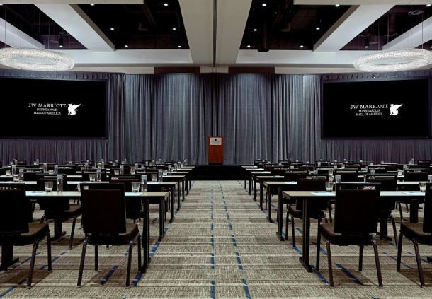 Diamond Ballroom - Classroom Setup