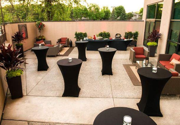 Reception - Outdoor Patio