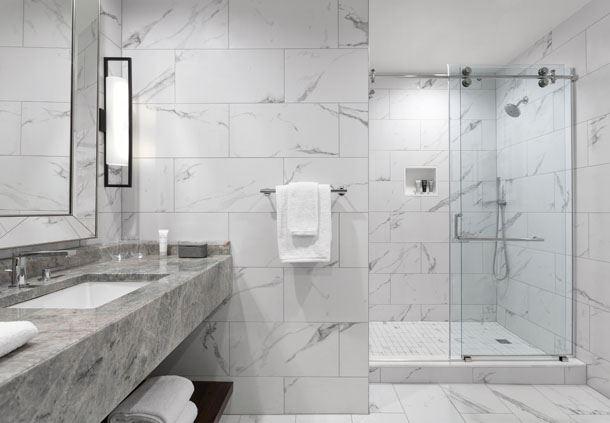 Two-Bedroom Bi-Level Suite - Bathroom