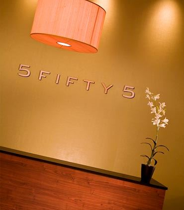 5 Fifty 5 Entrance