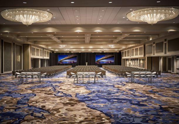 Grand Ballroom - Theatre Setup