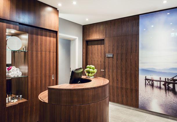 LaVida - Fitness & Vital Lounge - Entrance area