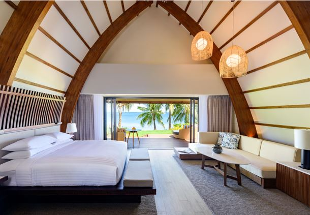 Ocean Front Bure Villa