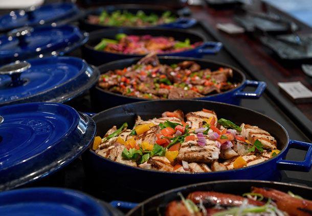 Dinner Buffet - Hot Dishes