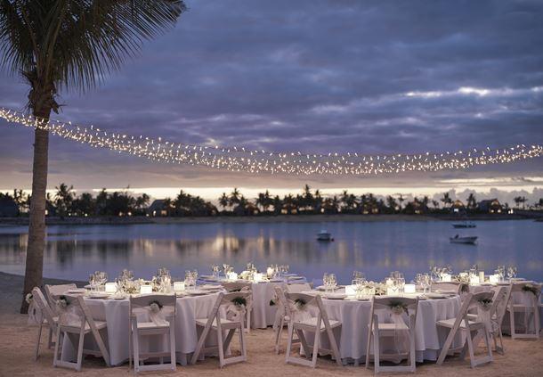 Vonu Beach - Banquet Setup