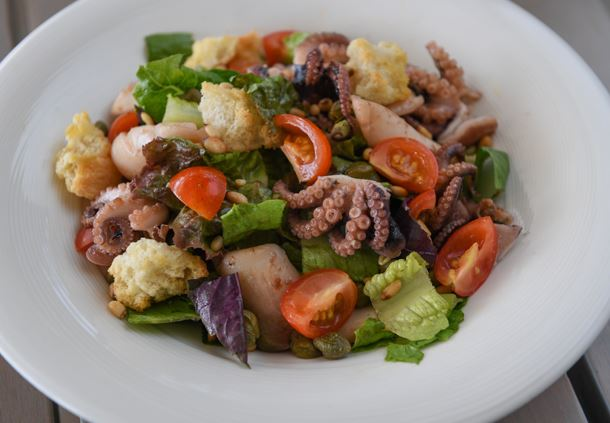 Sicilian Calamari & Octopus Salad