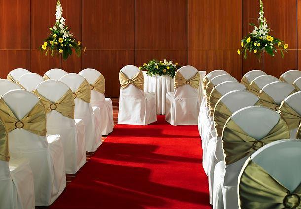 European Suite - Civil Ceremony Setup