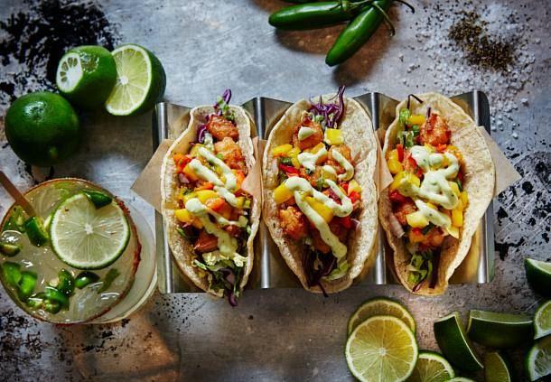 Vista.Kitchen.Bar - Shrimp Tacos