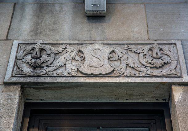 S for Shelton Hotel