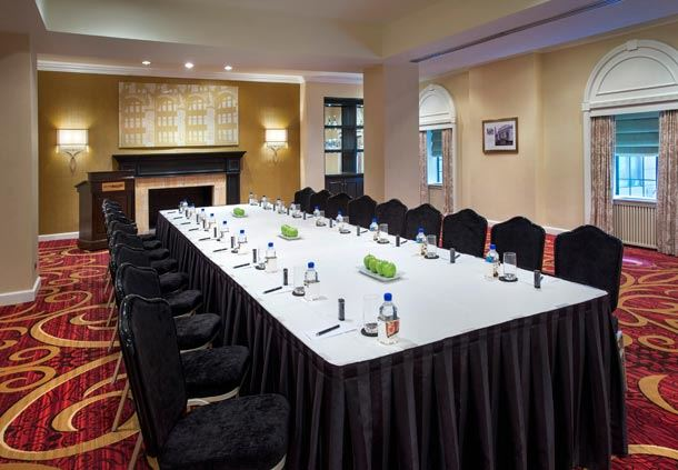 Whitney Room - Boardroom Setup