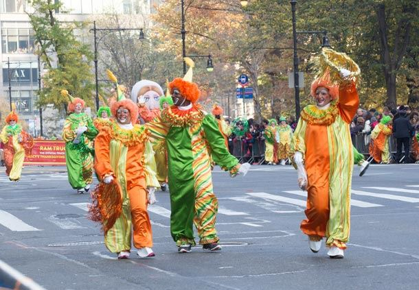 Thanksgiving Parade Clowns